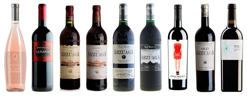 Vinos Arzuaga, exquisitos vinos de la Ribera del Duero, España.